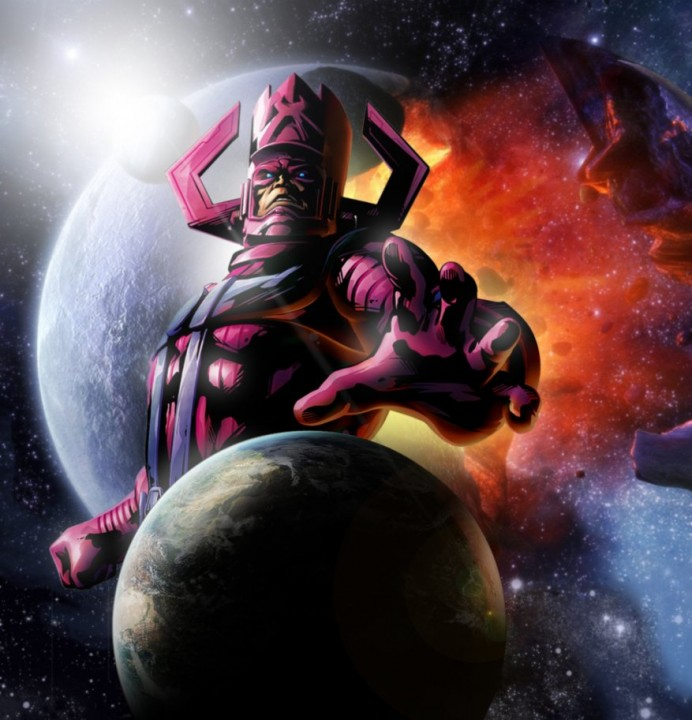 "The ""real"" Galactus. Note: he's not a weird space-could."