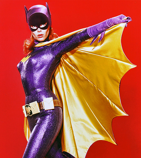 "Yvonne Craig as Batgirl, in the 1960's series ""Batman"""