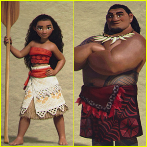 "Character reveals from the new Disney film, ""Moana""."