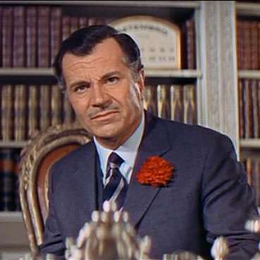 "Gabriele Ferzetti as he appeared in ""On Her Majesty's Secret Service"", 1969."