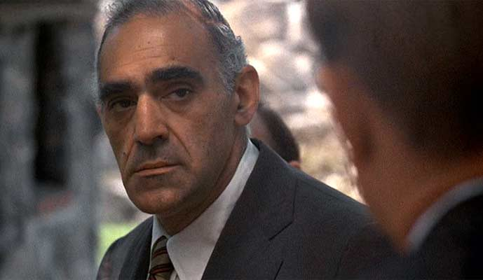 Abe Vigoda in The Godfather