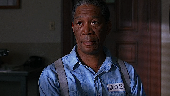 Morgan Freeman in The Shawshank Redemption (1994)