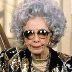 Ms Guilbert as Grandma Yetta in The Nanny.