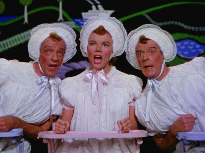 fred-astaire,-jack-buchanan,-and-nanette-fabray-in-den-stora-premiären-(1953)