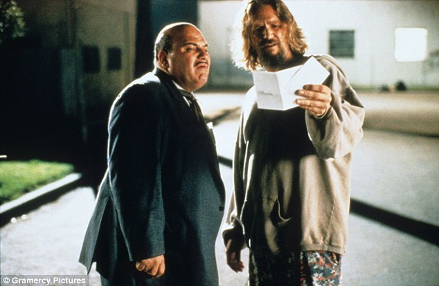Jon Polito with Jeff Bridges in The Big Lebowski