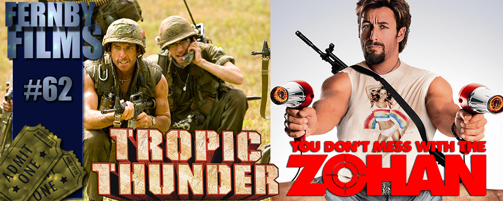 Movie Review – Tropic Thunder & The Zohan!!!