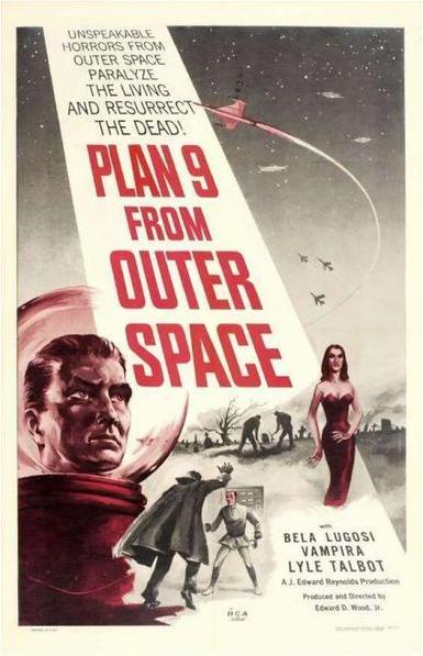 Movie Review - Plan 9 From Outer Space