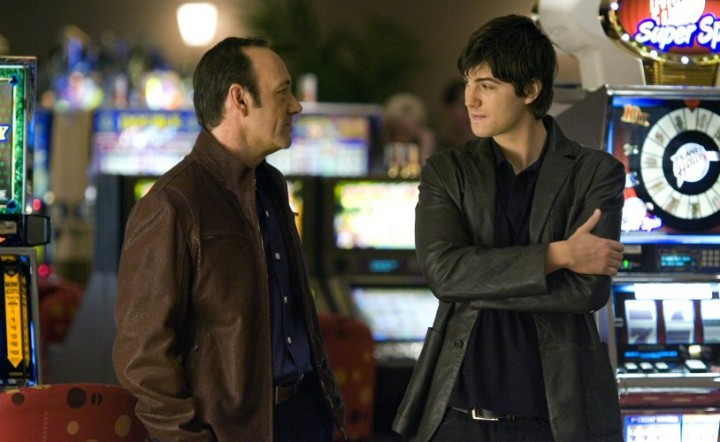 Kevin Spacey (left) and Jim Sturgess.  Photo by:  Peter Iovino