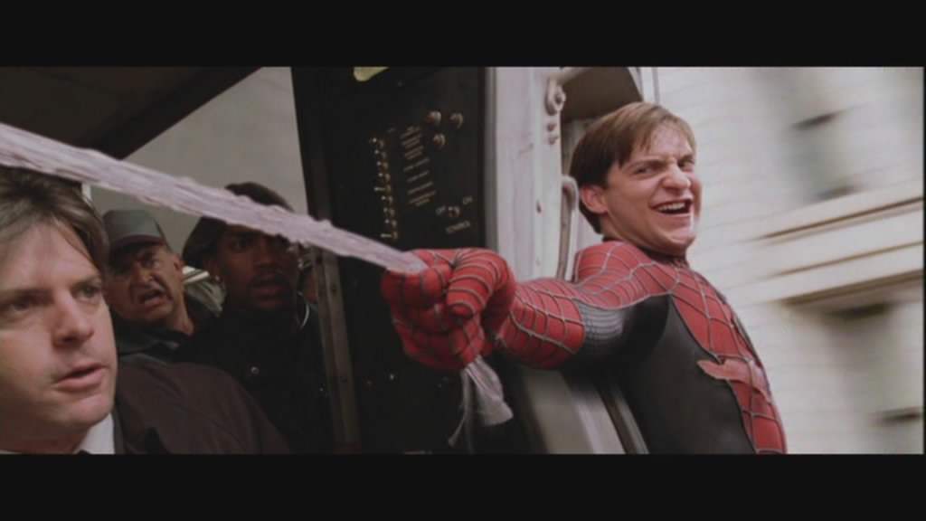 And so, with that, Spiderman was introduced to the new method of stopping trains in New York.