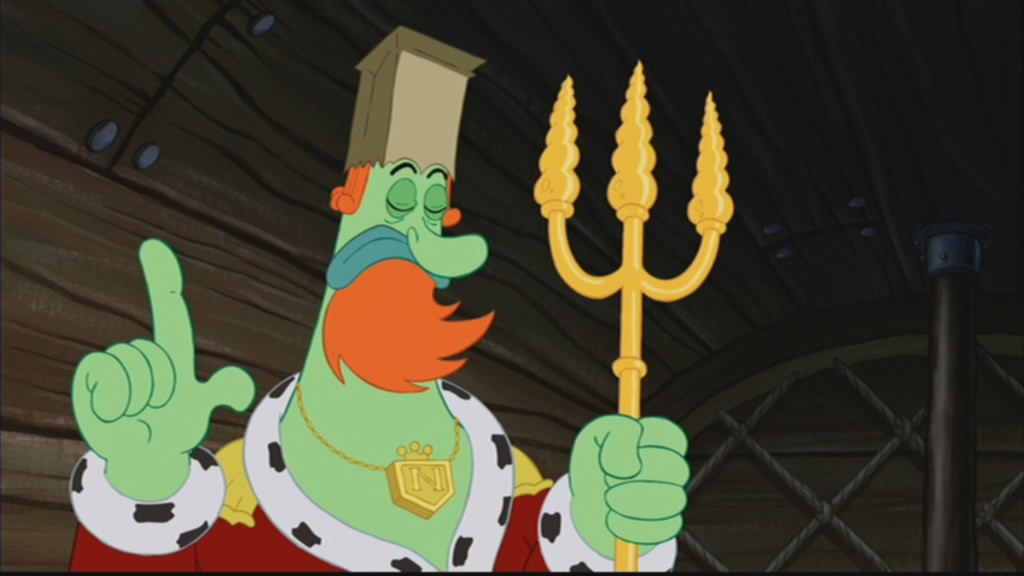 King Neptune may have been ovecompensating for something...
