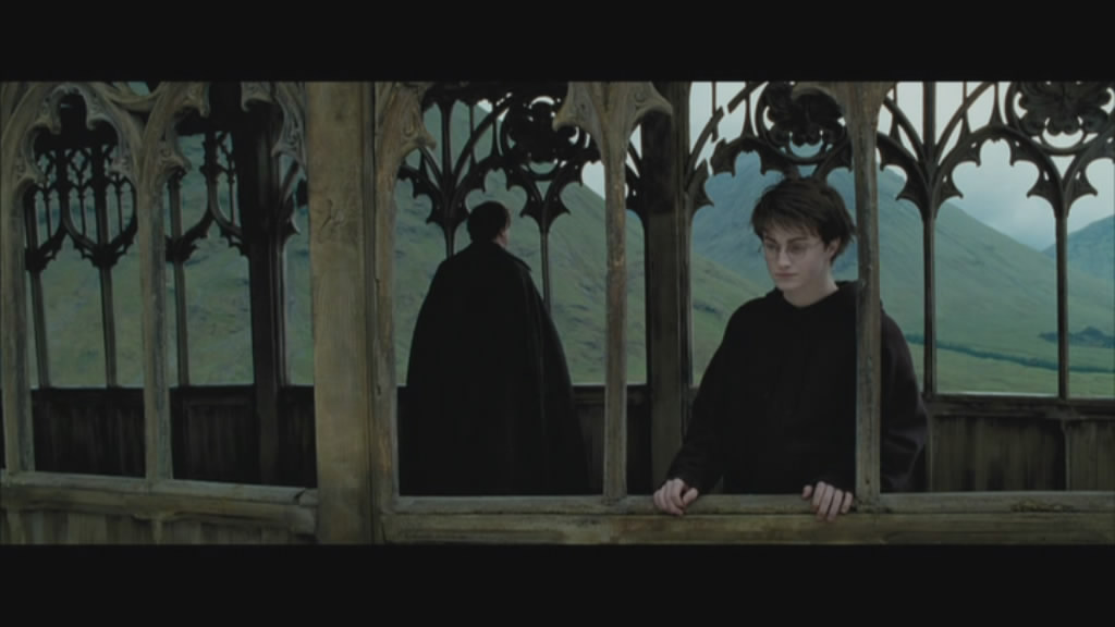 I can see Draco down there... can I hock a lugey at him?