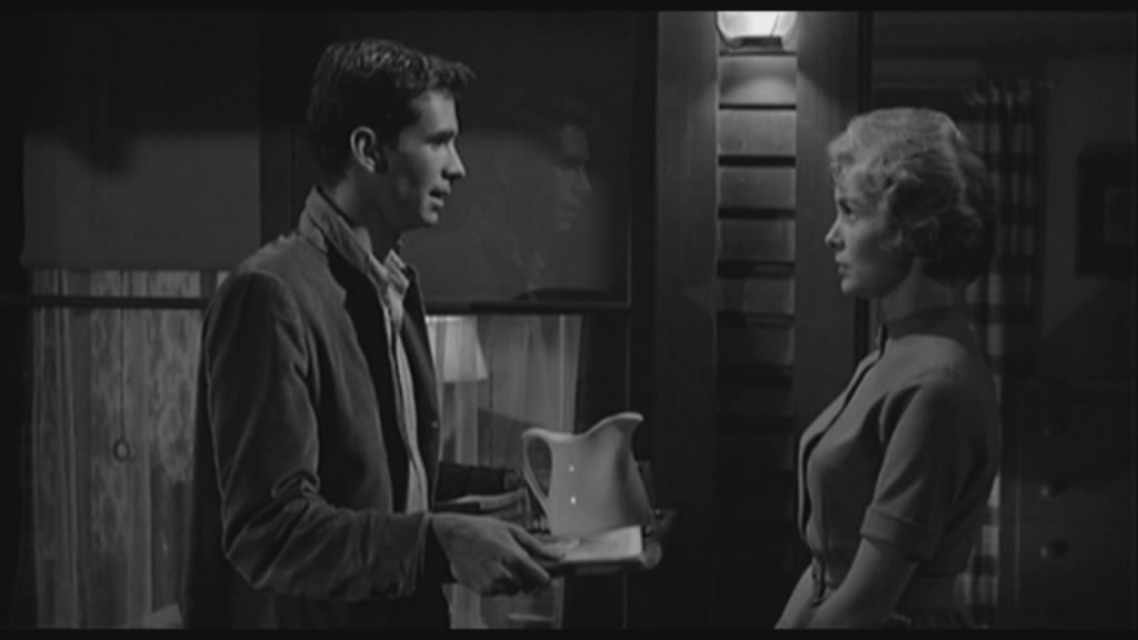 Norman Bates and Marion Crane