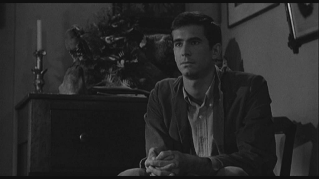 Anthony Perkins as Norma Bates.... a man afraid of his mother.