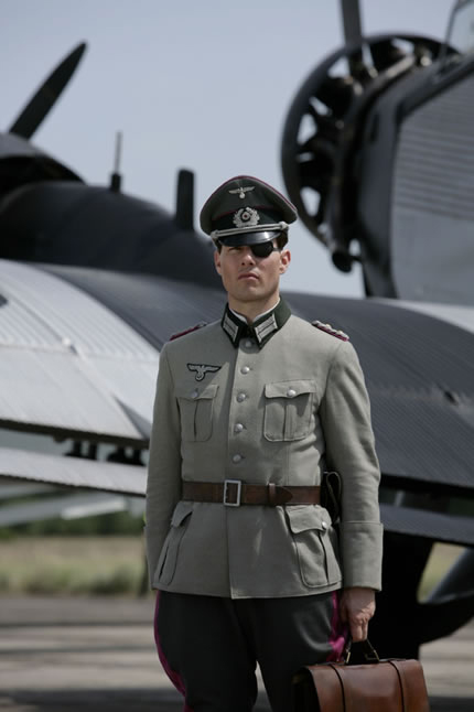 Tom Cruise as Colonel Von Stauffenberg.