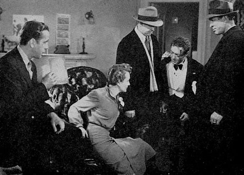 The cast of Key Largo