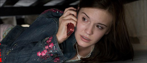 Maggie Grace, the kidnapped daughter, in Taken.