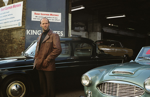 Statham plays Terry Leather, a car salesman you really can't trust.