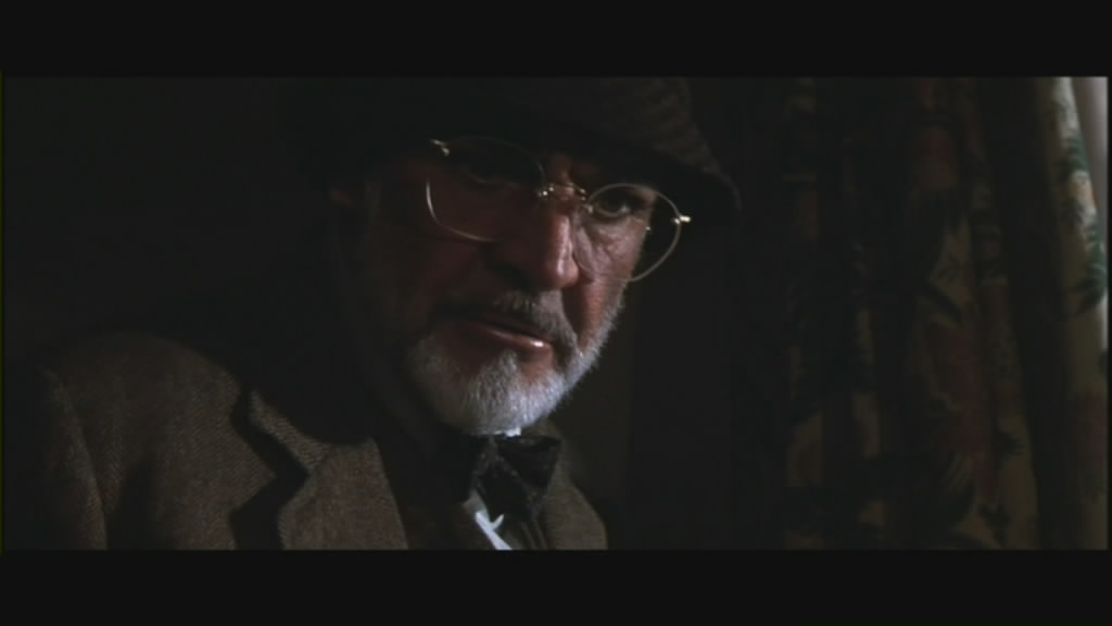 Connery as Henry Jones.