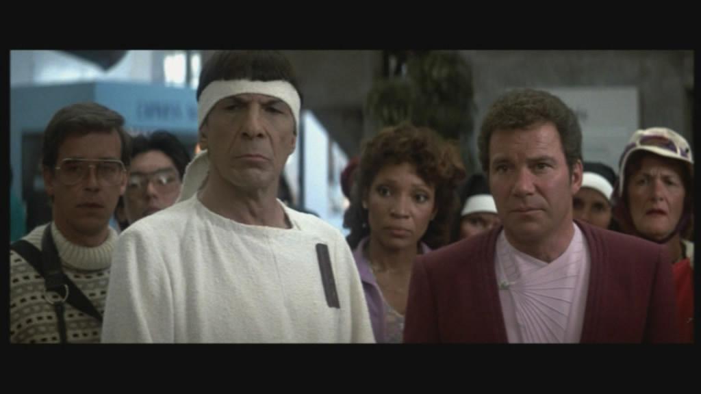 """Kirk & Spock """"undercover""""."""