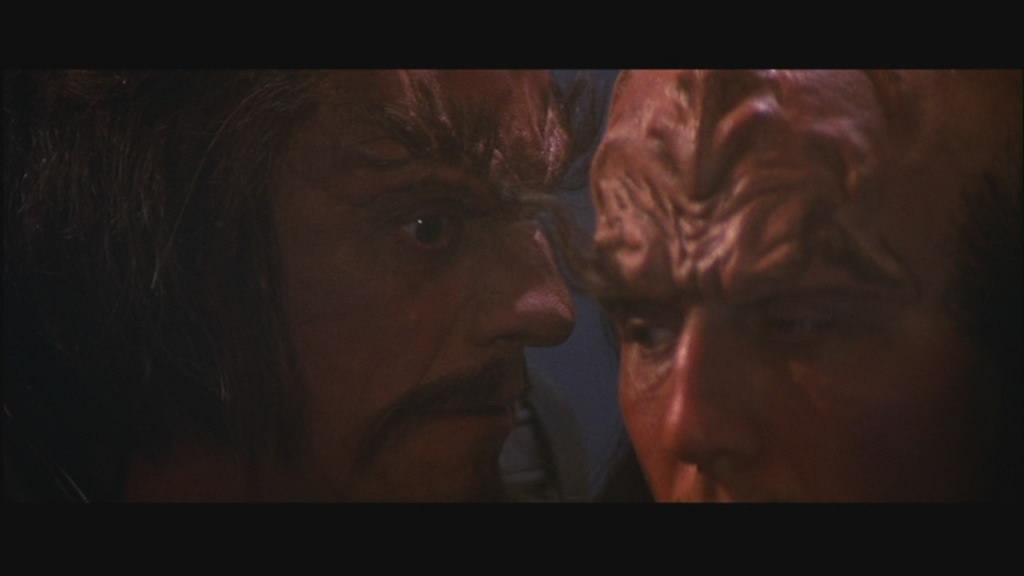 For Barry the Klingon, the sexual tension was almost unbearable.