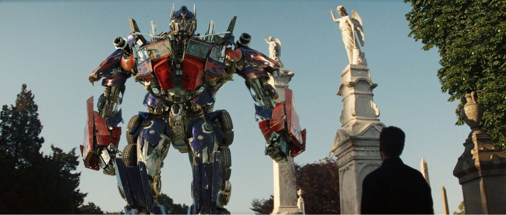 Optimus comes to Sam for help.