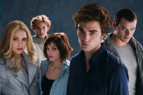 Edward and the Cullen family... they're all out to suck your blood....