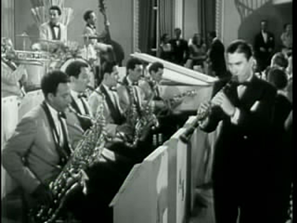 Artie Shaw and his band...