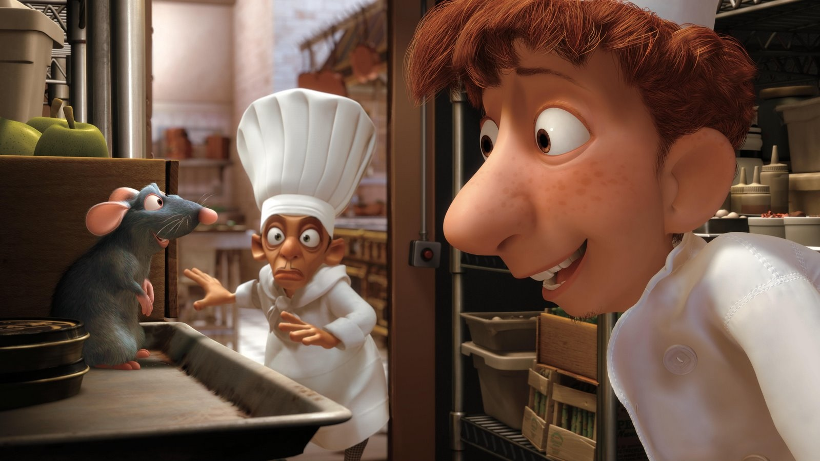 But I swear, I never saw her before.... oh wait, that awful chef dude is coming...