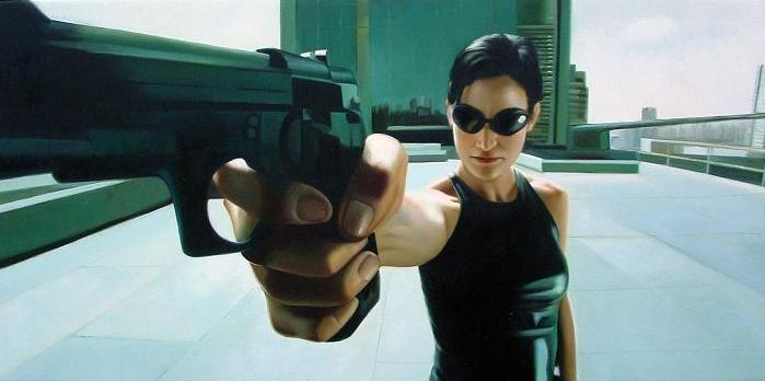 Movie Review – Matrix Trilogy, The: Al K Hall Tips His Glass On The Matrix Spill-ogy…