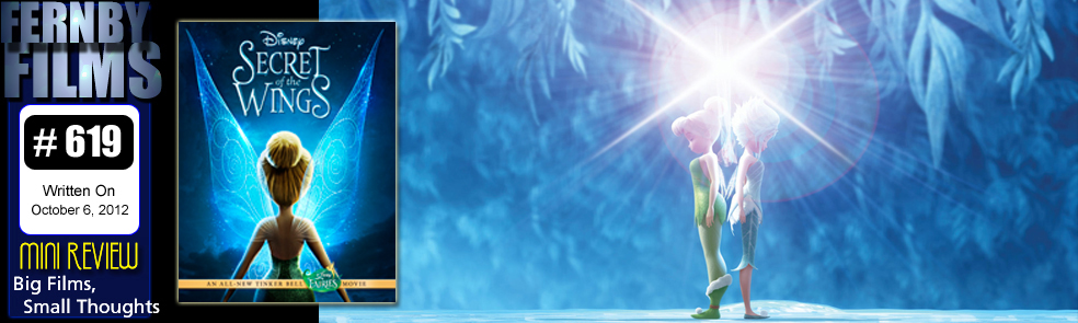 Movie Review - Tinker Bell: The Secret Of The Wings  (Mini Review)