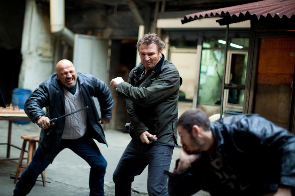 Doing the Neeson hustle!!