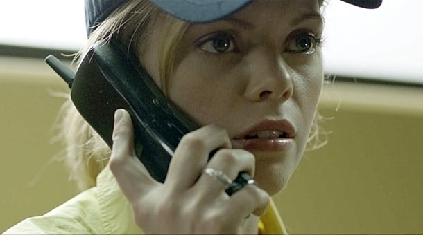 People spend a great deal of time on the phone in this movie, don't they?