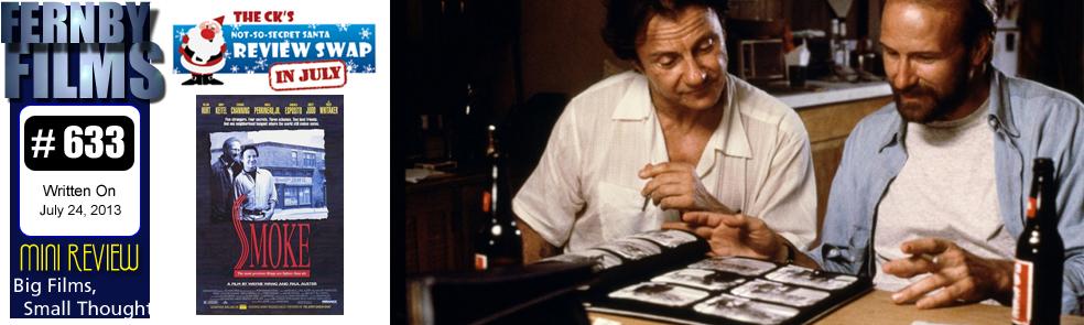 Movie Review – Smoke (1995)  (Mini Review)