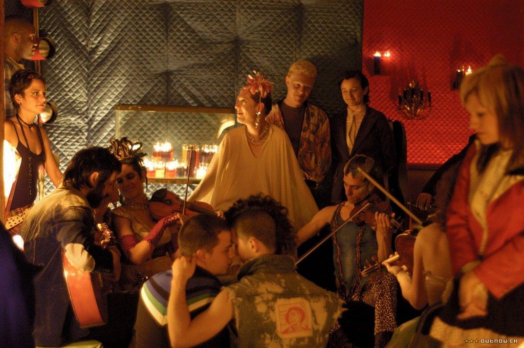 A clothed orgy.... rare for Shortbus....