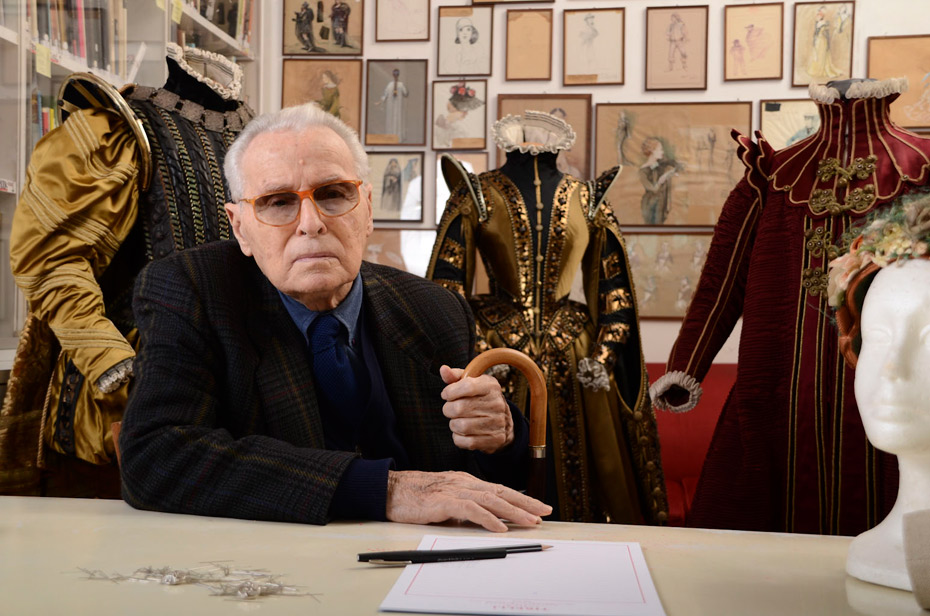 "Piero Tosi - Costume Designer, ""for his phenomenal achievements in costume designing for last 75 years"""