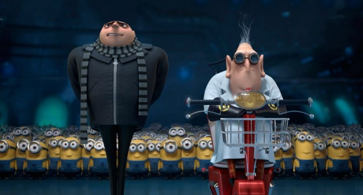 New Gru. New do.