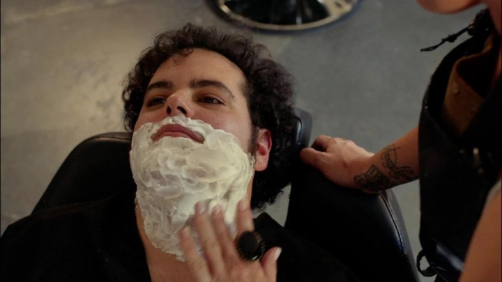 Shaving!
