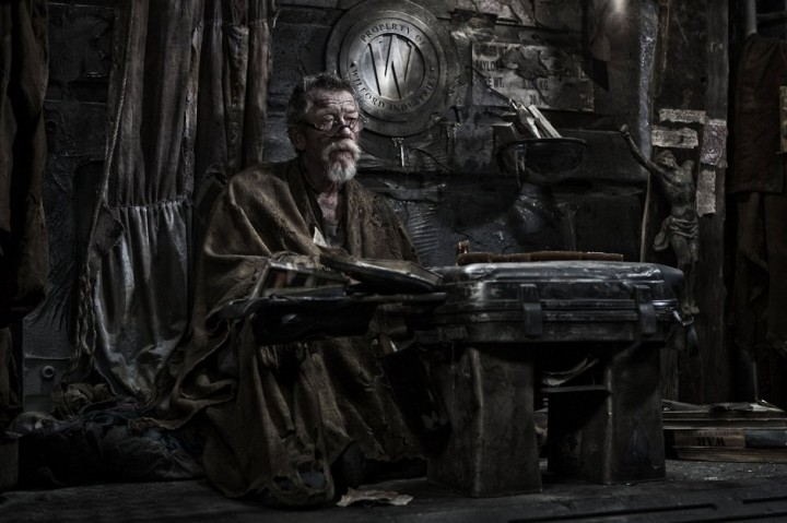 A long way from HR Gieger, right John Hurt?