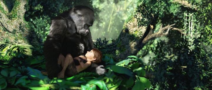 Gorilla in the midst.