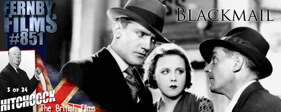 Movie Review – Blackmail  (1929)