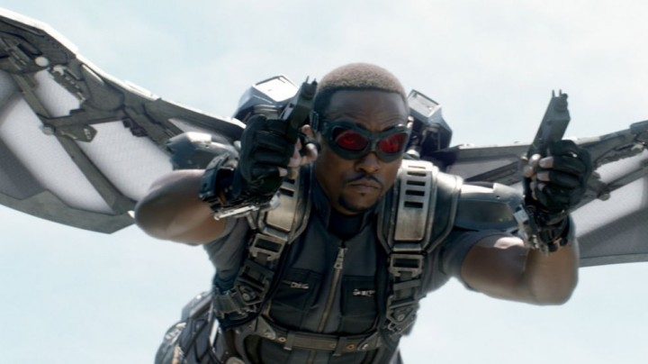 A man with wings and guns takes flight. Just how much more cool do you NEED in a single film?