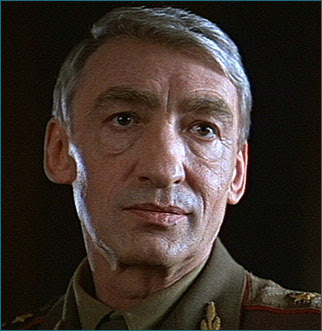 Gottfried John as Colonel Orumov in 1996's GoldenEye.