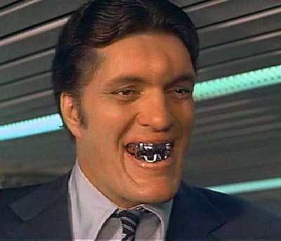 Kiel as Jaws in one of his two appearances in the James Bond franchise.