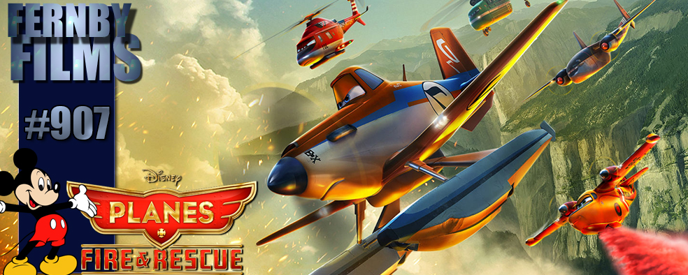 Movie Review – Planes: Fire & Rescue