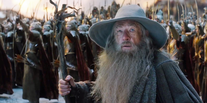 Gandalf. Always around when he's needed.