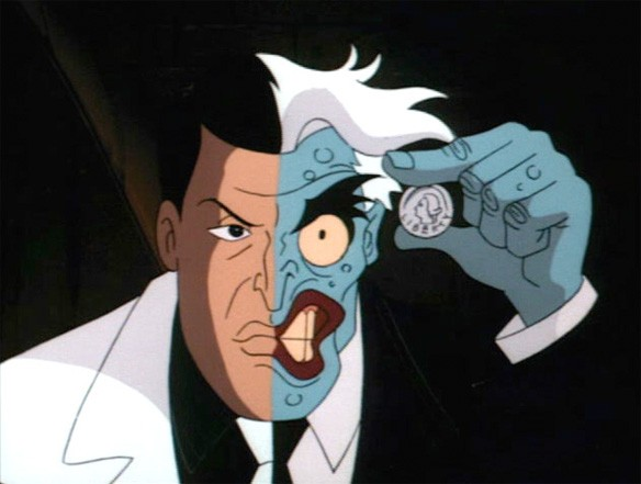 Two Face in animated form.