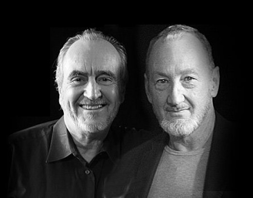 Wes Craven (L) with actor Robert Englund, who portrayed horror icon Freddie Krueger in all but one of the Nightmare On Elm Street films.