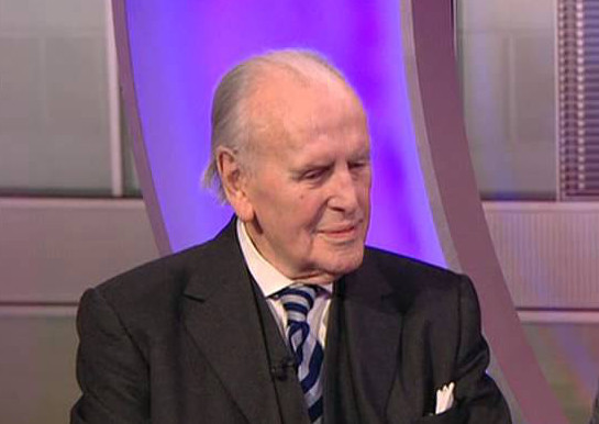 Actor George Cole celebrates his 90th birthday.