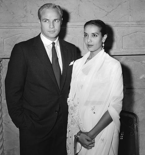 Marlon Brando and Anna Kashfi (undated)