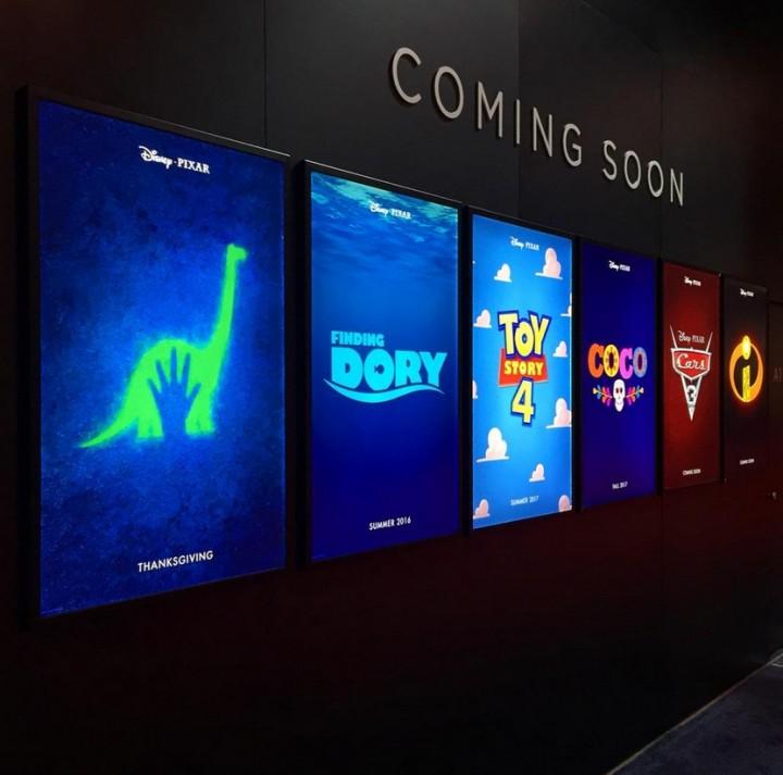 Pixar Releases